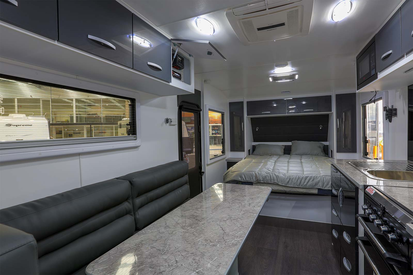 Gold Caravans Interior View